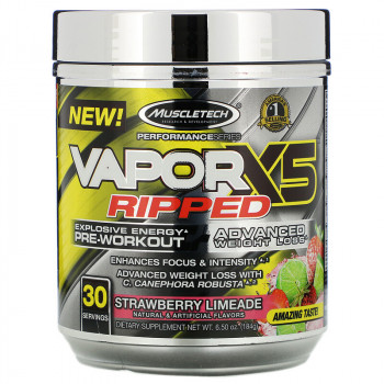 Muscletech VaporX5 Ripped 184 гр.