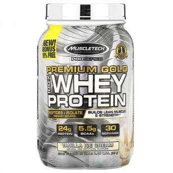 Muscletech Premium Gold 100% Whey Protein 998 грамм