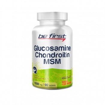 Be First Glucosamine+Chondroitin+MSM 90 таб.