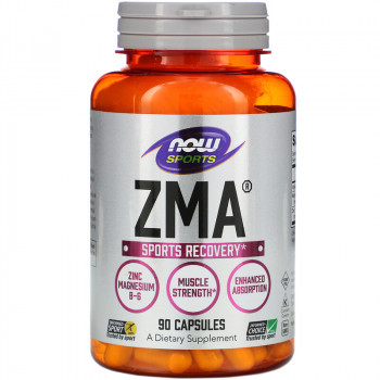 Now Foods ZMA 90 капсул