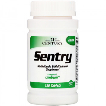 21st Century Sentry Multivitamin & Multimineral Supplement 130 таблеток