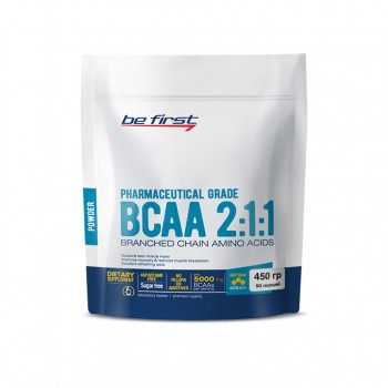 Be First BCAA 2:1:1 powder 450 гр.