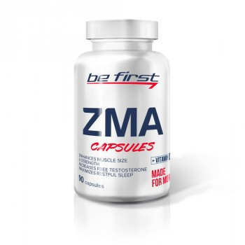 Be First ZMA + vitamin D3 90 капс.
