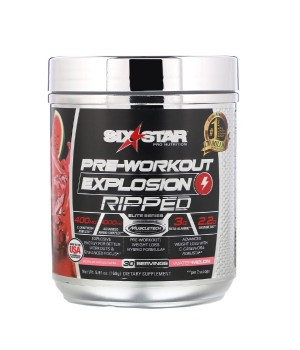 Muscletech Six Star Pre-Workout Explosion Ripped 168-173 гр.