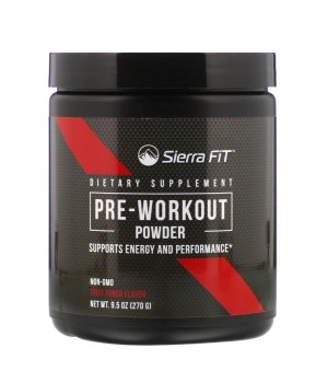 Sierra Fit Pre-Workout Powder 270 грамм