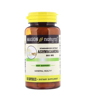 Mason Natural Ashwagandha Extract 500 мг 60 капс.