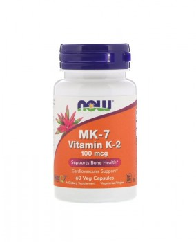 Now Foods Mk-7 Vitamin K-2 60 вег. капс.