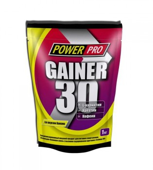 Power Pro GAINER 30 - 1000гр.