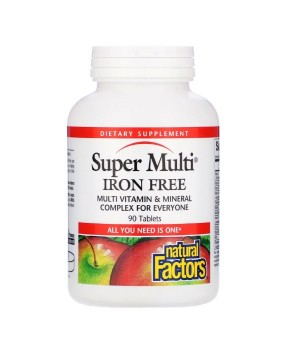 Natural Factors Super Multi 90 таблеток