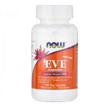 Now Foods EVE Women's Multi (iron-free) 120 вег. капсул
