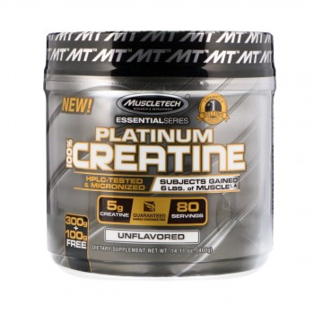 Muscletech Essential Platinum 100% Creatine Monohydrate 400 гр.