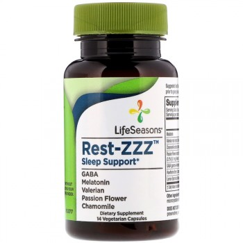 LifeSeasons Снотворное Rest-ZZZ 14 вег. капсул