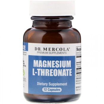 Dr. Mercola Magnesium L-Threonate 12 капс.
