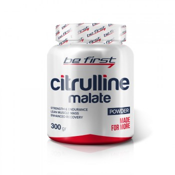 Be First Citrulline malate powder 300 гр.
