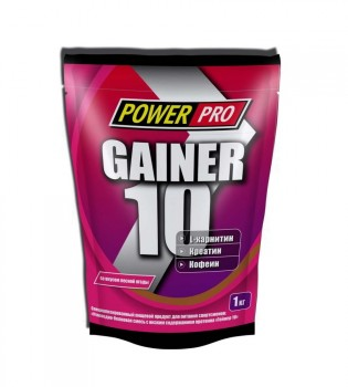 Power Pro GAINER 10 - 1000 гр.