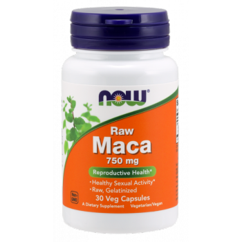 NOW Foods Raw Maca Concentrate 90 капс. по 750 мг.