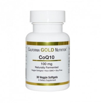 California Gold Nutrition CoQ10 TapiOgels 100 мг 30 капс.
